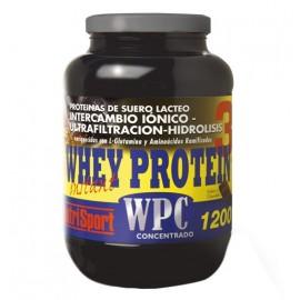WHEY PROTEIN 3 (WPC) NUTRISPORT 1200g