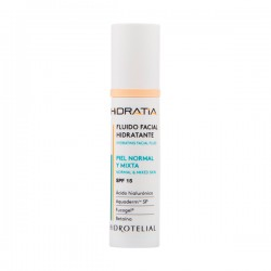 HIDROTELIAL FLUIDO FACIAL HIDRATANTE PIEL NORMAL/MIXTA PF 15 50 ML