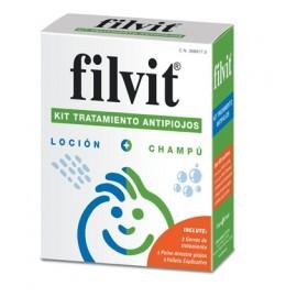 Filvit Kit tratamiento Anipiojos Loción + Champú