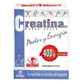 Creatina Monohidrato 400 Nutrisport 400g Polvo