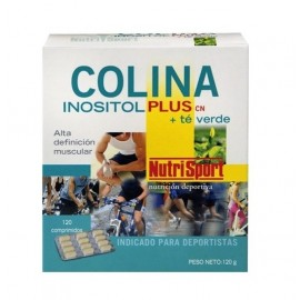 Colina Inositol Plus + Té Verde Nutrisport 120 Comp