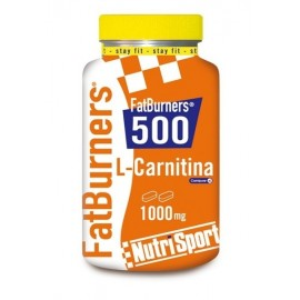 Fat Burners 500 L-Carnitina Nutrisport 40 Compr.