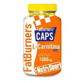 Fat Burners Caps L-Carnitina Nutrisport 105 Compr.