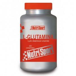 L-Glutamina Nutrisport 100 Comprimidos 1g
