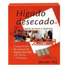 HÍDADO DESECADO NUTRISPORT 120 Comprimidos 1g