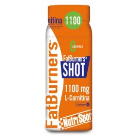FAT BURNER SHOT NUTRISPORT 20 Shots Sabor Naranja