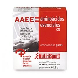 AMINOÁCIDOS ESENCIALES NUTRISPORT 100 Cápsulas 500mg