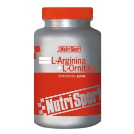 L-ARGININA L-ORTININA NUTRISPORT 100 Cápsulas 500mg
