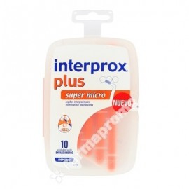 CEPILLO INTERPROXIMAL INTERPROX Plus Super Micro 10 Unidades