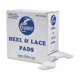 HEEL LACE PADS 7,5cm x 7,5cm 2000 pads (ALMOHADILLAS) CRAMER